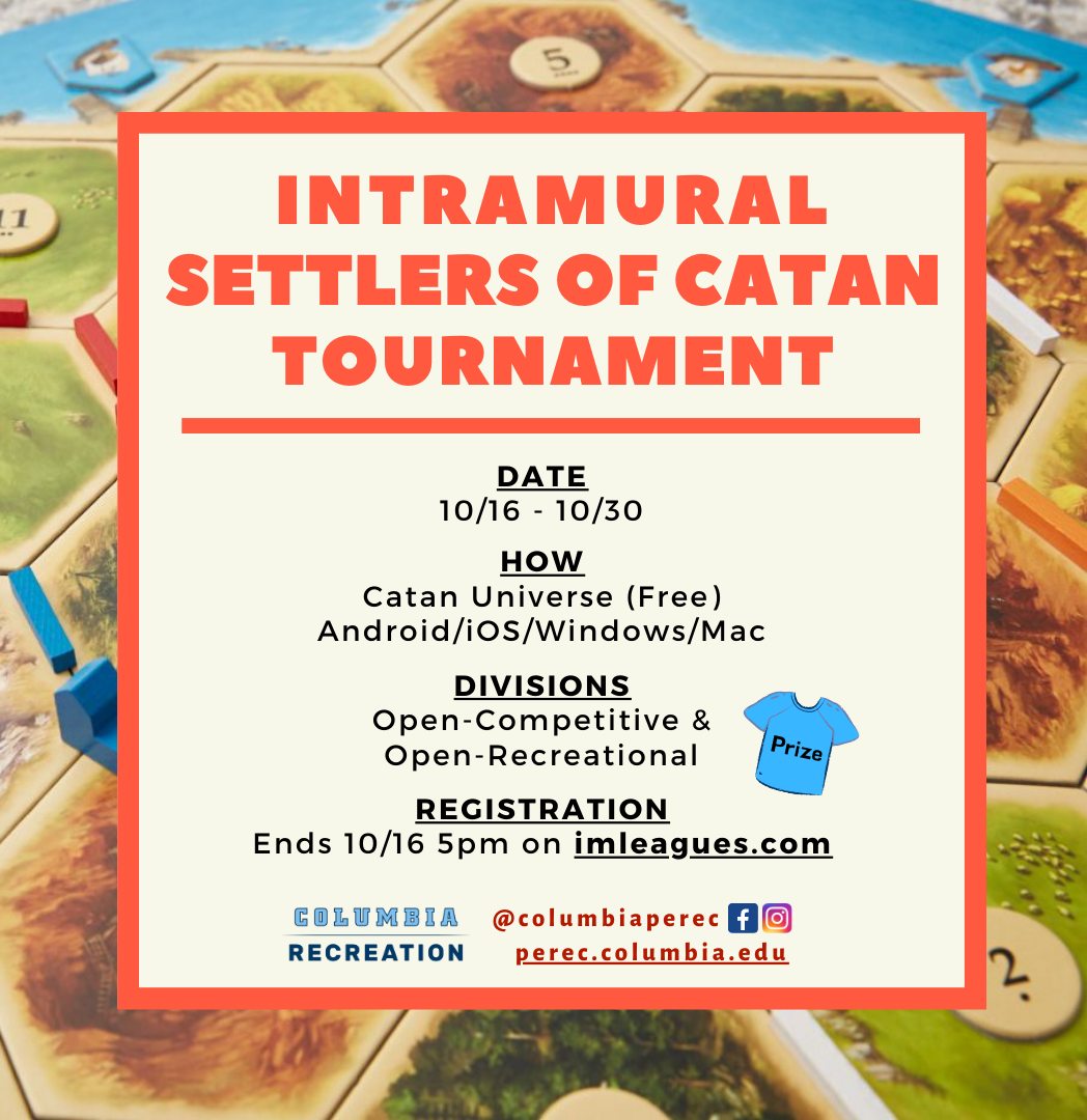 Settlers of Catan Flyer